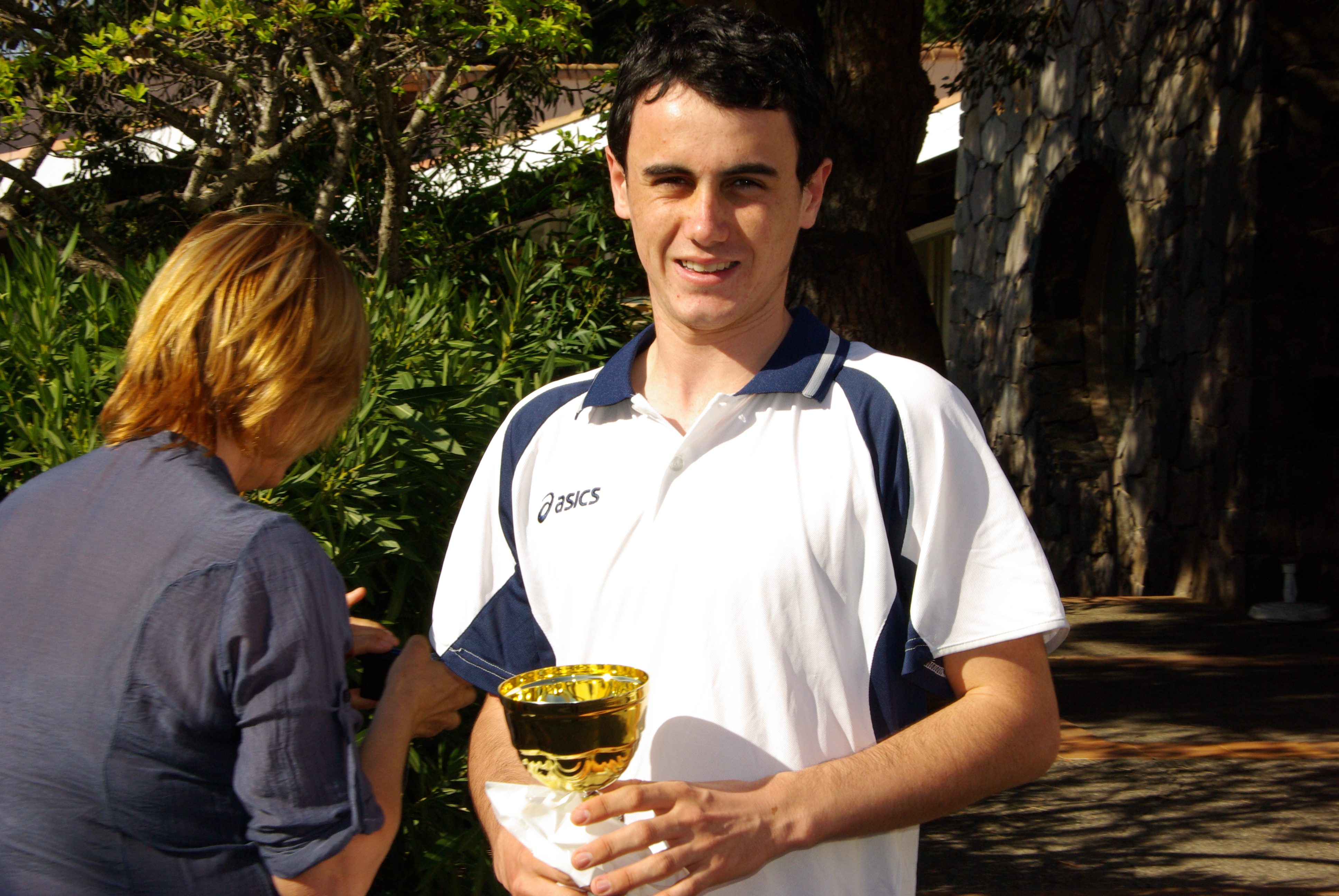 Matthieu Souveton Champion Départemental 2012