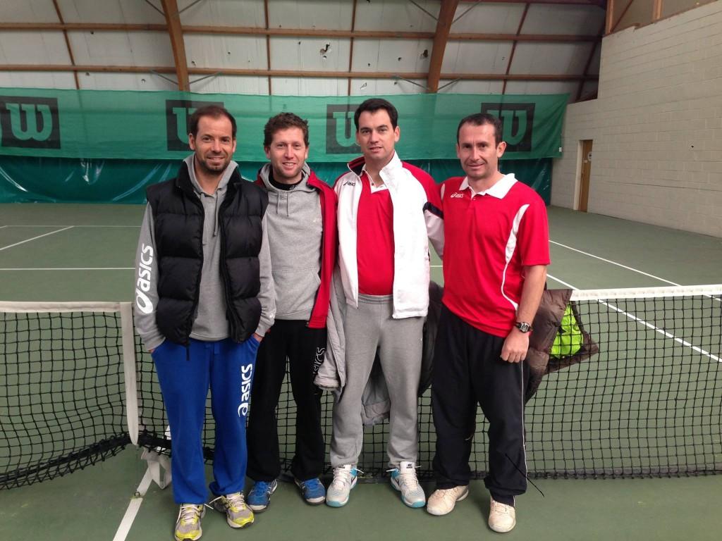 Tennis Club Pierre Rouge : Equipe des +35 ans