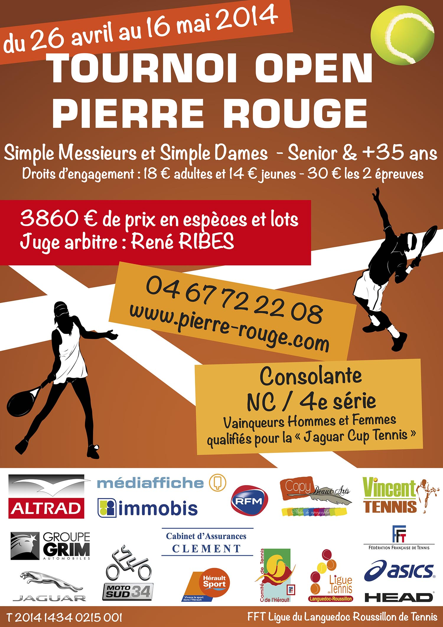 Tournoi Open Adultes 2014