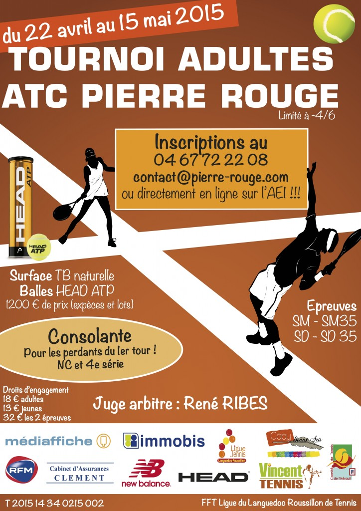 Tournoi Adultes 2015 Pierre Rouge