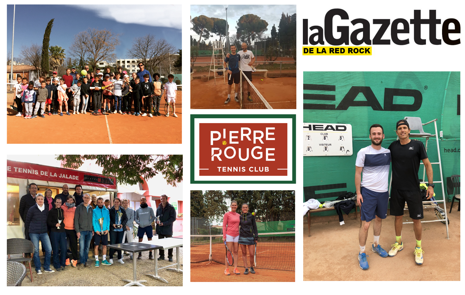 Tennis Club Pierre Rouge Montpellier - Gazette Red Rcok #17
